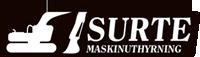 Surte maskinuthyrning logo